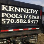 Kennedy Pools & Spas Truck